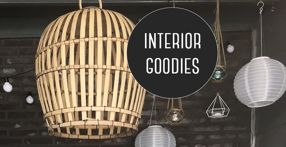 Interior goodies: bamboe lamp uit Bali
