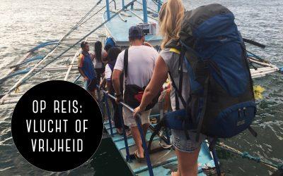 Op wereldreis: vlucht of vrijheid
