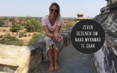 7 redenen om naar Myanmar te gaan
