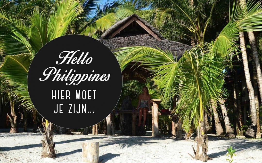 Reisblog Filipijnen: hier moet je zijn!