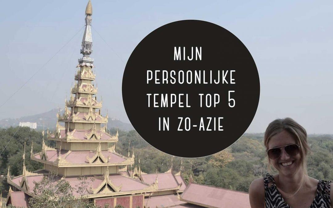 Het fenomeen tempel-moe + mijn persoonlijke top 5