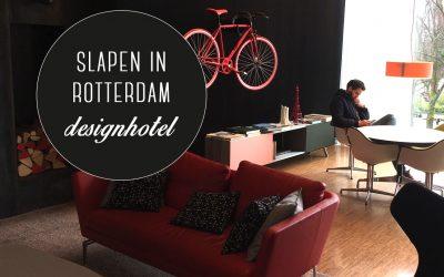 Slapen in Rotterdam: designhotel citizenM