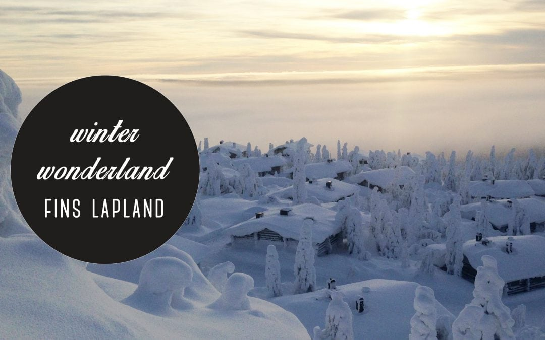 Winter wonder land: Fins Lapland