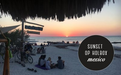 Mexico: 3x de mooiste zonsondergang op Holbox