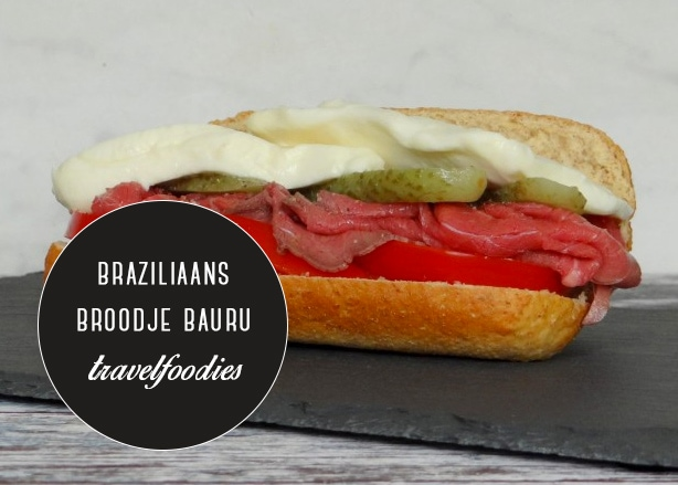 Travelfoodies: Braziliaans broodje Bauru