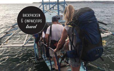 Backpacken: wat neem je allemaal mee? 6 (inpak)tips