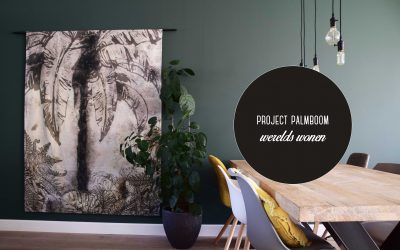 Wereldse interieurs: project palmboom