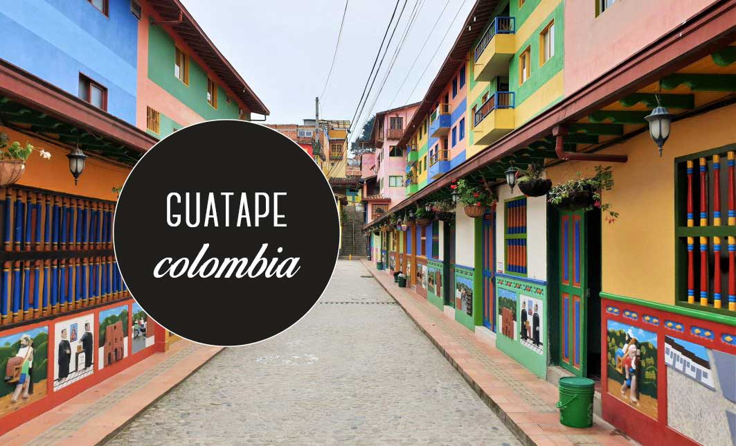 Travel blog Guatapé: the most colorful village in Colombia